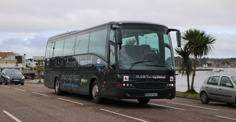 PCV Driver Training in Dorset and Hampshire