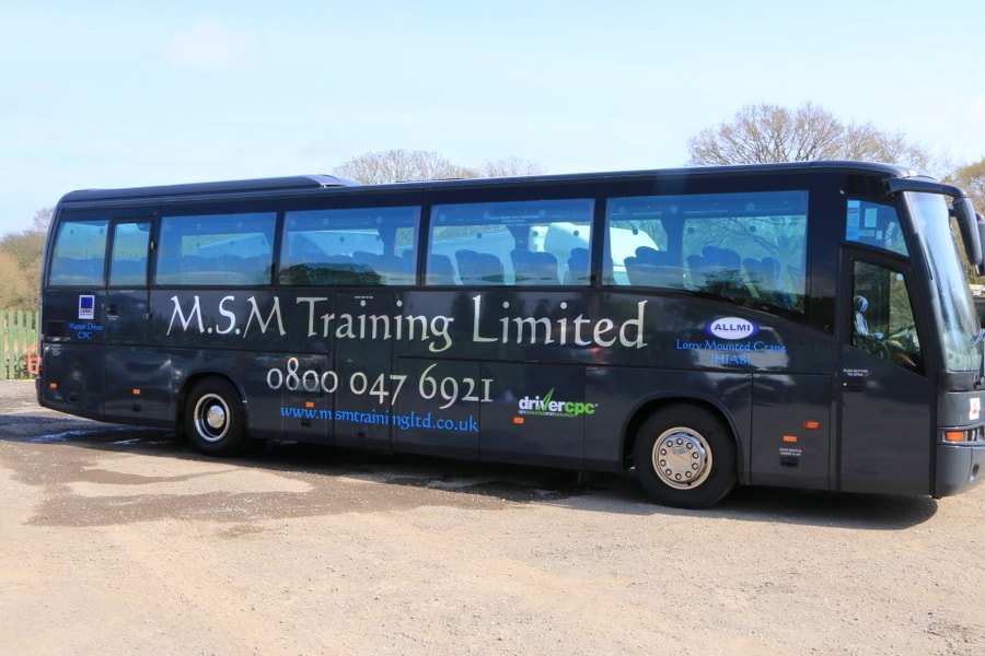 Bus driver Training in Dorset and Hampshire