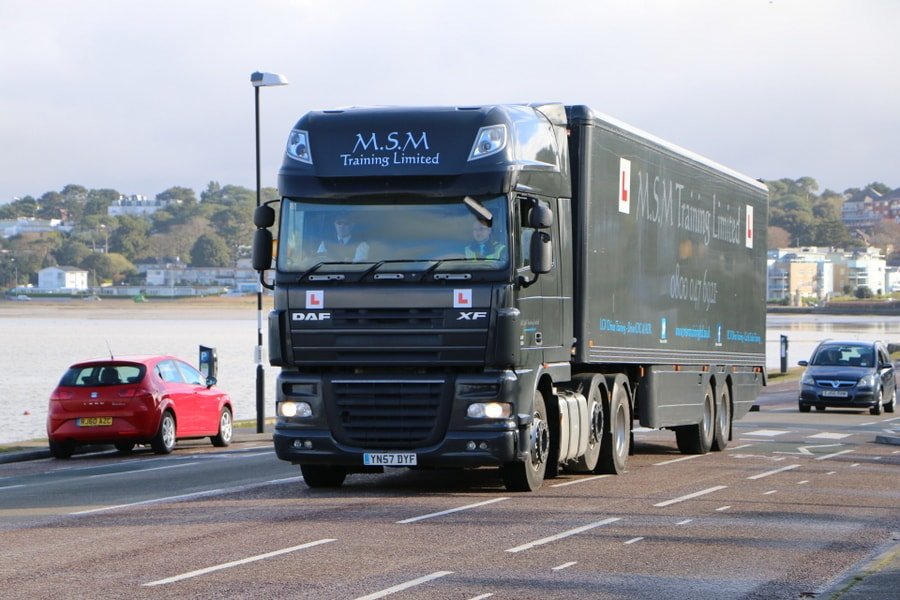 HGV and LGV Driver Training Courses in Dorset and Hampshire