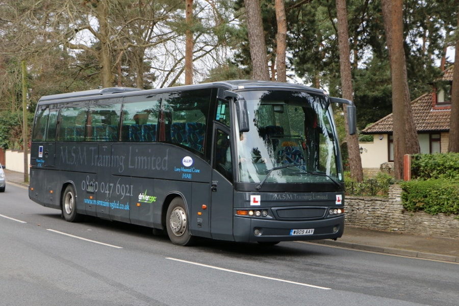 Bus Driver Training in Bournemouth and Poole