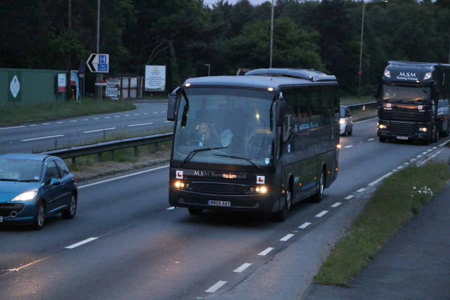 Bus Driver Training in Dorset