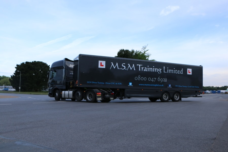 lorry driver training in Dorset
