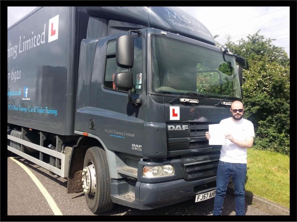 Professional LGV and HGV driver training