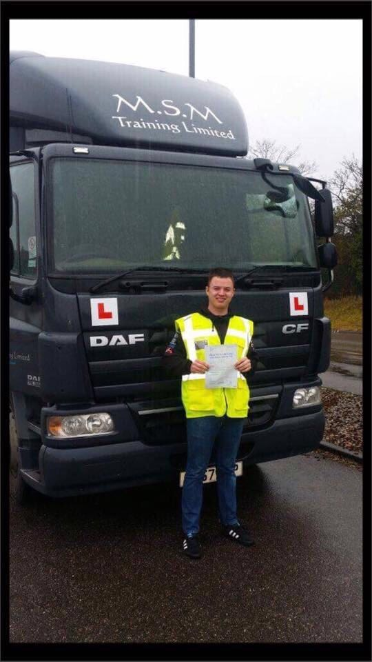 HGV driver training courses